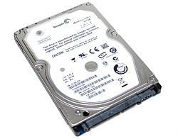 A standard HDD hard drive